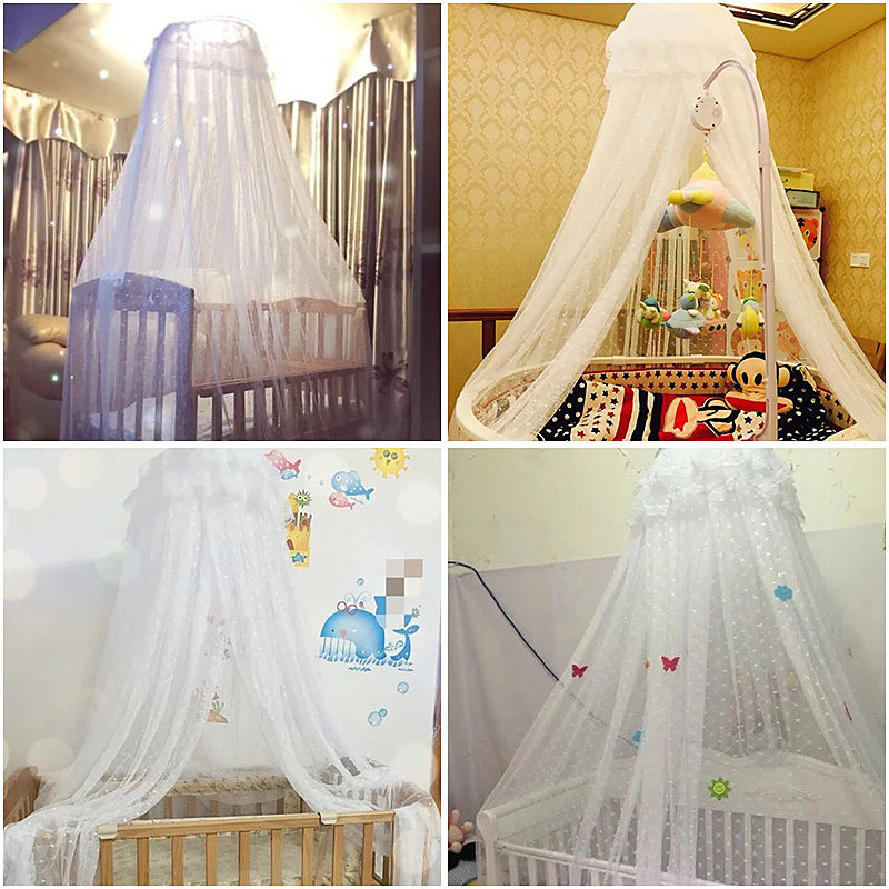 Baby Crib Mosquito Net For Infants Portable Newborn Cot Folding Canopy Boys Girls Summer Netting Portector Childrenu0027s Bed Wigwam-in Crib Netting from Mother ... & Baby Crib Mosquito Net For Infants Portable Newborn Cot Folding ...
