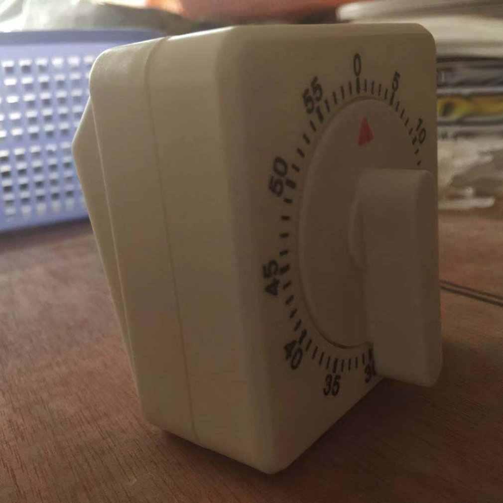Temporizador de cocina cuenta atrás 60 minutos alarma tiempo mecánico