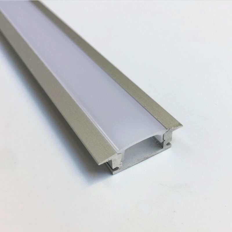 5-15 pieces TS08D led alu profile for led strip lights led strip aluminum channel housing free shipping super wide u shape aluminum anodized profile for led strips with cover and end caps for dual row led strip