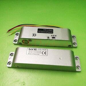 Image 5 - คุณภาพสูง DC 12V ปลอดภัยไฟฟ้า DROP Bolt ล็อคสำหรับควบคุมประตูล็อคประตูไฟฟ้า Mortise ล็อค
