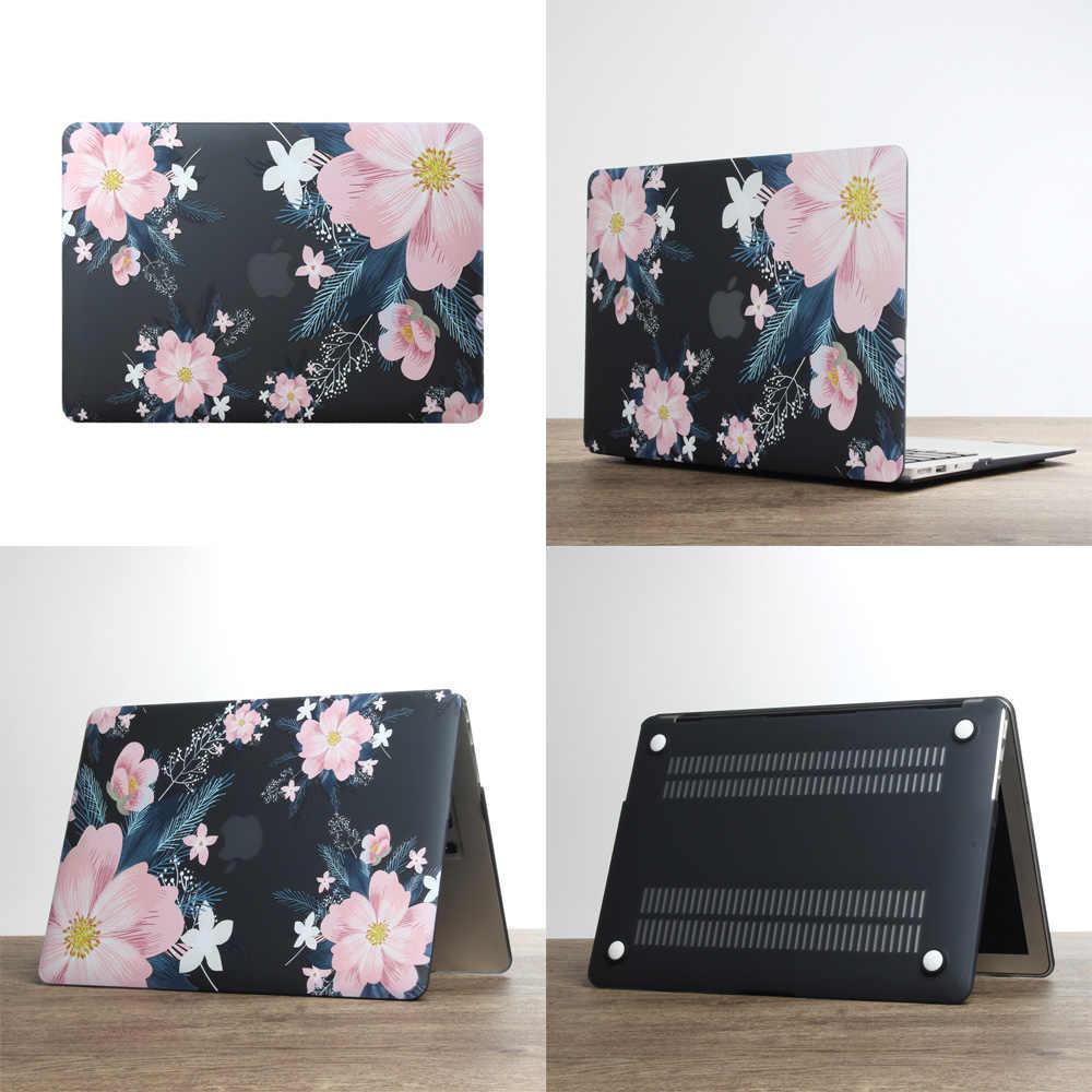 2019 neue Laptop Fall Für Apple MacBook Air Pro Retina 11 12 13 15 mac buch 13,3 zoll mit Touch bar shell + Tastatur Abdeckung