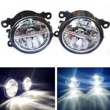 For Jaguar XK Convertible _J43_ 2006-2013 LED fog lights Car styling drl led daytime running lamps 1SET