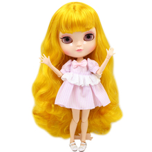 ICY Neo Blythe Doll Yellow Hair Azone Jointed Body 30cm
