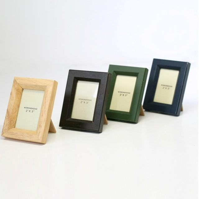 Mini Rubber Wood Photo Frame Mini005 Mini Series Thumbnail