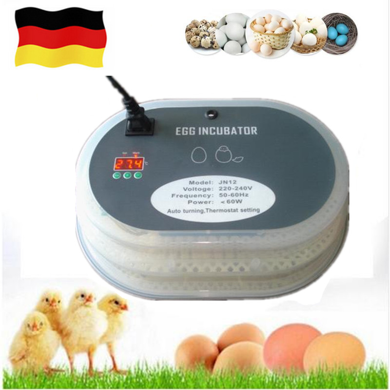 Full-Automatic Capacity 12 eggs hatching machine for sale mini household incubator hatchers tool with eggs turner incubator automatic parts automatic controller for sale xm 18