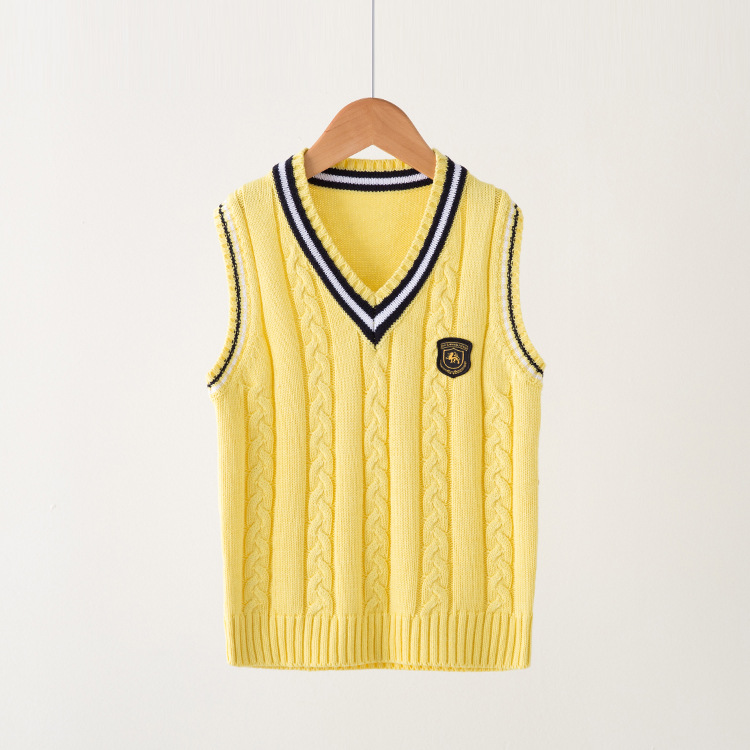 VIDMID-Hot-Sale-Autumn-Winter-V-neck-Baby-Boys-Knitted-Vest-Cardigan-School-Uniform-Style-Sweater-Childrens-clothing-7016-02-2