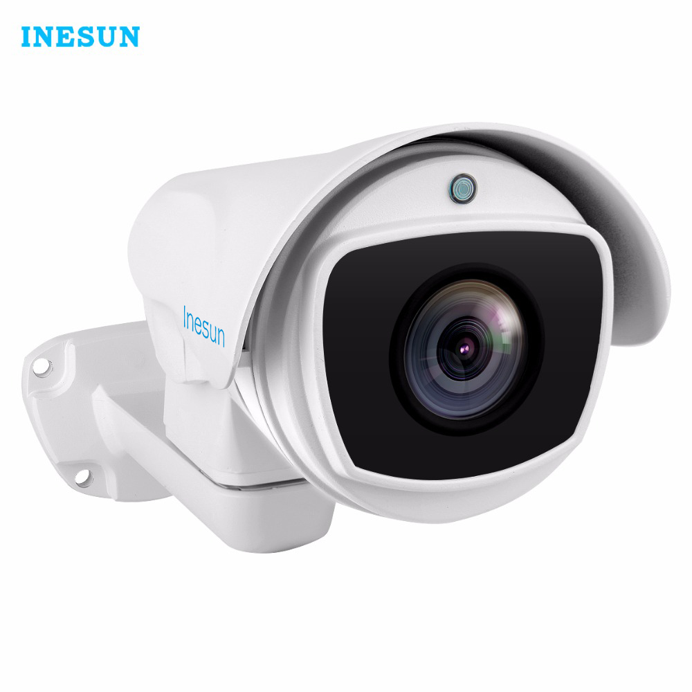 Inesun 4x/10x Optical Zoom HD 1080P AHD PTZ Bullet Camera 4-in-1 AHD/CVI/TVI/CVBS Waterproof Outdoor IR Security Camera hd ahd cvi tvi cvbs bullet camera with alarm speaker waterproof ip67 hd 1080p 4 in 1 security camera outdoor night vision ir 20m