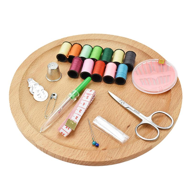 41pcs/Set Sewing Bag Multifunction Portable Sewing Box Sewing Thread Stitches Needles Tape Tools Scissor Travel Sewing Kit