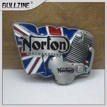 Le Bullzine norton ceinture boucle avec fini étain FP-03624 pour 4 cm  largeur composant logiciel enfichable sur la ceinture dbb079ed1ba