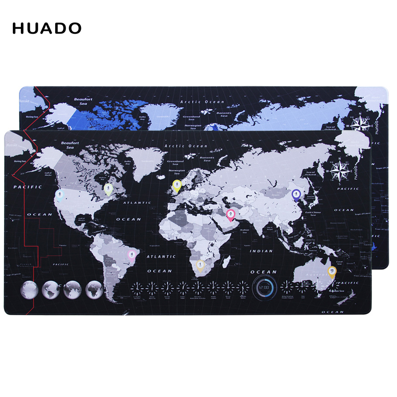 world map gaming mouse pad rubber mousepad speed Keyboards Mat Desk Mat for World of Warcraft/steelseries/ overwatch/dota 2/lol