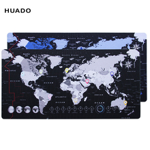 hot deal buy world map gaming mouse pad rubber mousepad speed keyboards mat desk mat for world of warcraft/steelseries/ overwatch/dota 2/lol