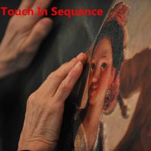 Real Life/Live Game Prop, Touch in Sequence to Escape from the Dark Room,