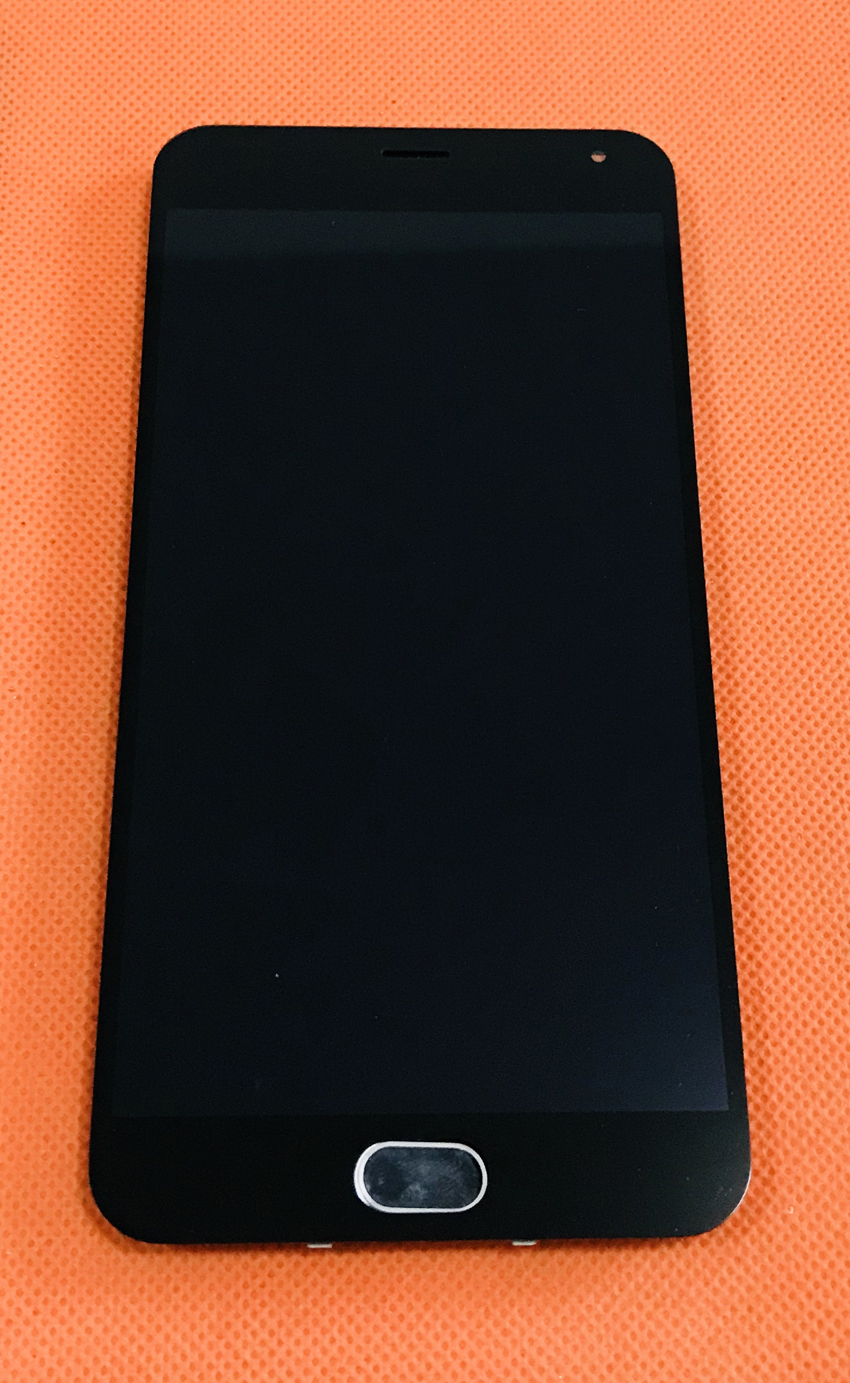 """Used Original LCD Display +Digitizer Touch Screen+Frame for Meizu M2 Note MTK6753 Octa Core 5.5"""" FHD free shippingMobile Phone LCD Screens   -"""