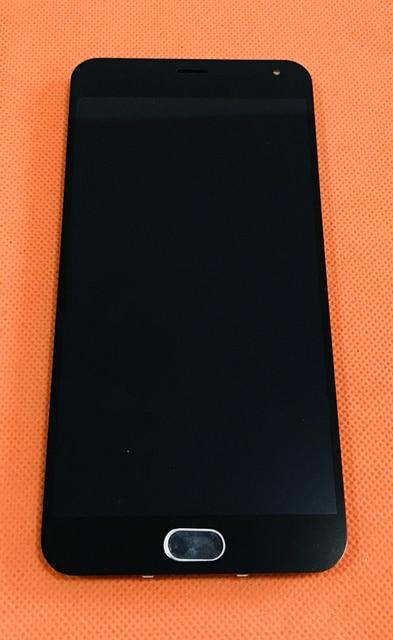 """تستخدم الأصلي lcd عرض + محول الأرقام لمس الشاشة + الإطار ل meizu m2 ملاحظة MTK6753 الثماني النواة 5.5 """"fhd شحن مجاني"""