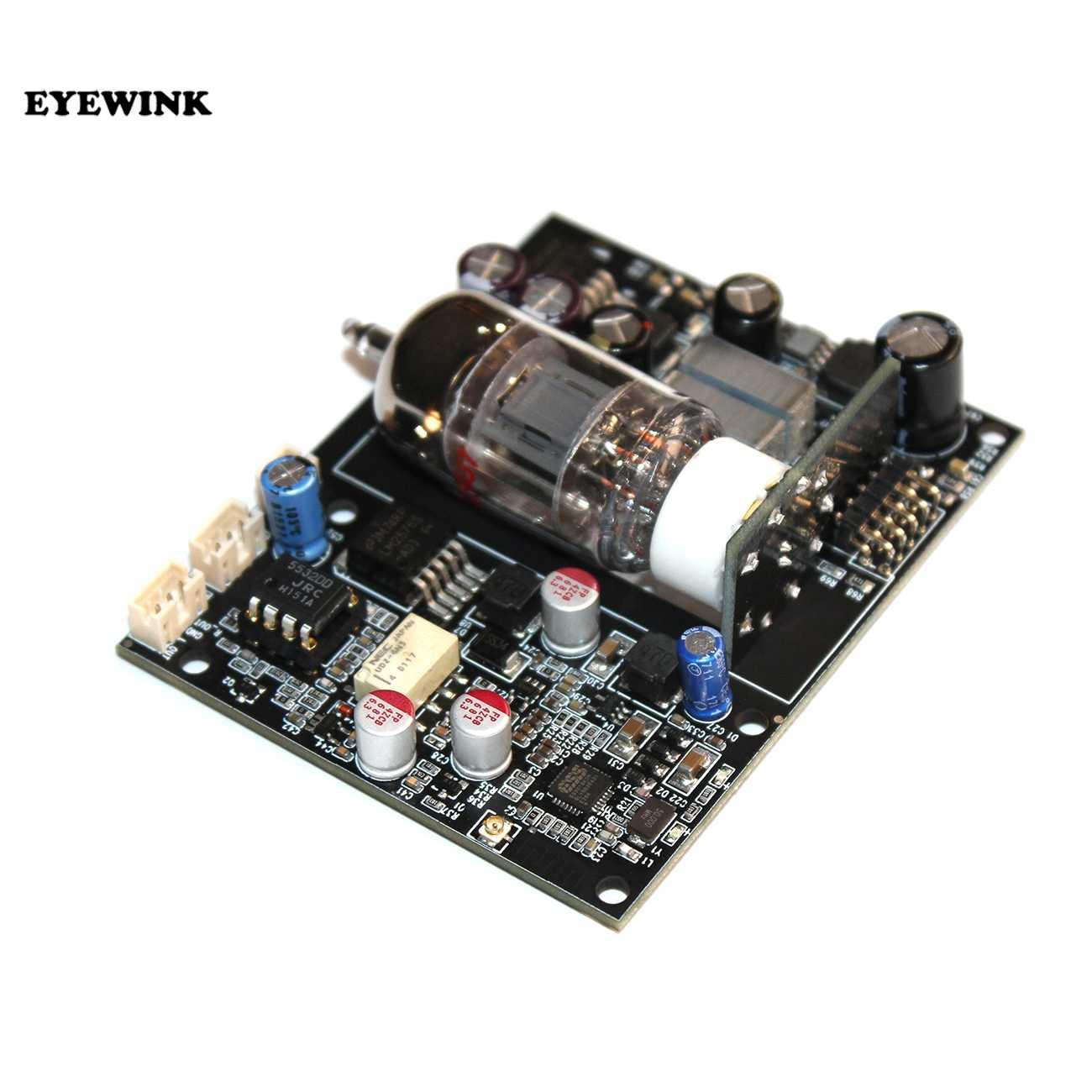Yeni CSR8675 kablosuz adaptör Bluetooth 5.0 alıcı kurulu ES9018 I2s DAC ses şifre çözücü kurulu 24 Bit/96 kHz 12AU7 elektron tüpü
