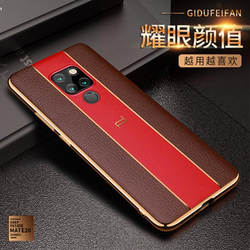 Модный чехол для телефона Huawei Mate 20 20Pro, мягкий гелевый Чехол из ТПУ для Huawei Mate 20X, защита для экрана из закаленного стекла Mate20 X