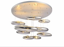 Ceiling light Space water drop mango Modern ceiling LED 80CM liquid Luminaire Science And Technology lamp Free shopping
