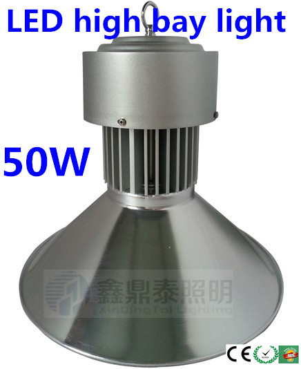 Free shipping 4 pieces/lot 50W LED High Bay light led factory Lamp AC85~265V 2 years warranty IP54 LED Industrial Lighting lamp free shipping ac85 265v high power 12w led underground lights led buried lamp waterproof 2 years warranty
