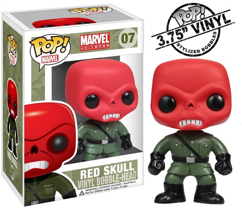funko pop marvel vinyl figure red skull in action toy. Black Bedroom Furniture Sets. Home Design Ideas