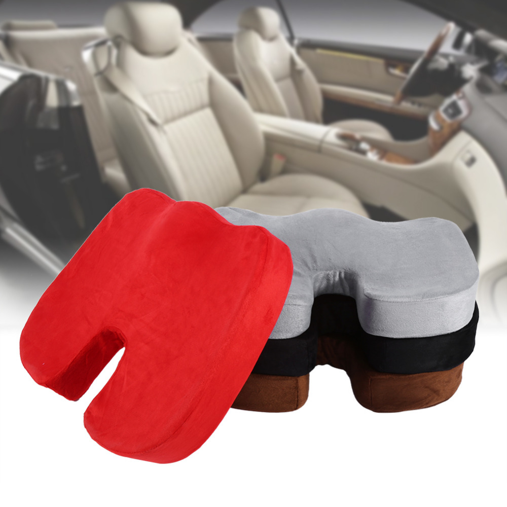 Universal Car Sit Cover Mat Pad Protect Lower Back Spinal