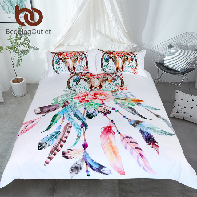 Floral Dreamcatcher Bedding Set