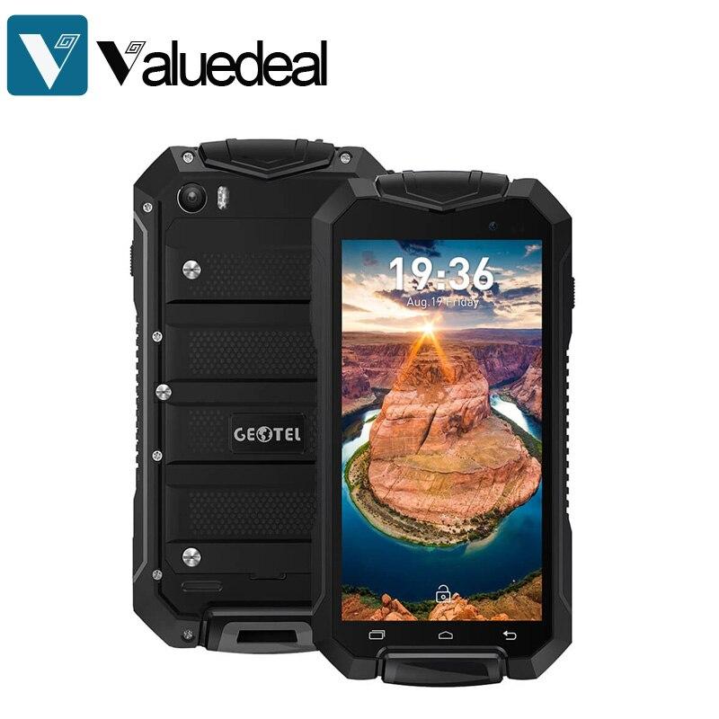 bilder für Original GEOTEL A1 IP67 4,5 inch Android 7.0 Smartphone 1 GB RAM 8 GB ROM MT6580 Quad Core 1,3 GHz 8.0MP