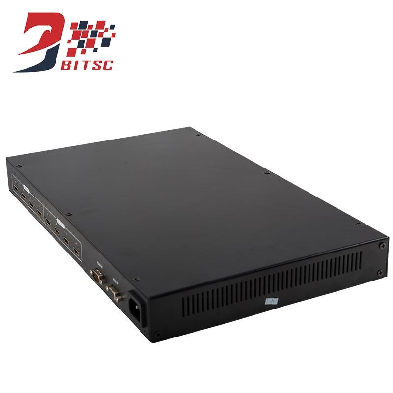 SZBITC LCD TV Matrix 4X4 Switch 4 input 4 output HDMI Splitter 1080P 3D 60Hz Video Wall Controller