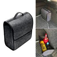 Auto Rear Storage Pouch Car Styling Car Trunk Storage Bags Folding Car Organizer Multi Use Seat