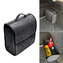 Auto Rear Storage Pouch Car Styling Car Trunk Storage Bags Folding Car Organizer Multi-use Seat Back Tool Bag Holder Box