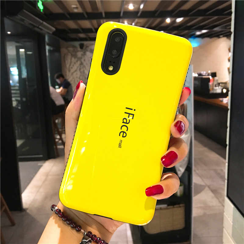 Sinbeda iFace モール Huawei 社 P20 プロ電話ケース衝撃吸収バンパー + TPU 裏表紙 Huawei 社 P20 lite P20 電話ケース