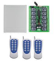 433mhz/315mhz DC 12V 12 CH 12CH Radio Controller RF Wireless Remote Control Switch System, Transmitter Receiver Garage door