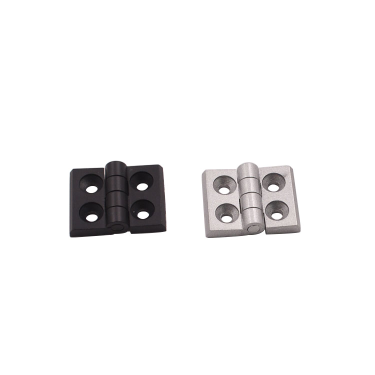 2020 aluminum profile plastic nylon hinges meter joint section connector door and window hinges(China)