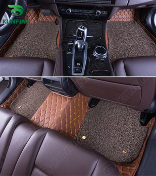 3D Car Floor Mat for Skoda Octavia foot mat car foot pad with One Layer Thermosol coil Pad Left hand driver car styling liner