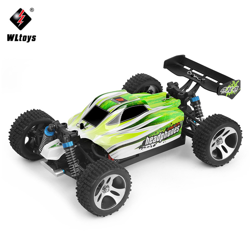 WLtoys RC Racing Car 4WD 1:18 SUV With 70km/hour A959-B Remote Control Car 2.4GHz High Speed RC Electric Car Toy Gift for Kids wltoys k929 1 18 2 4ghz 4 channel high speed remote control racing car model toy green