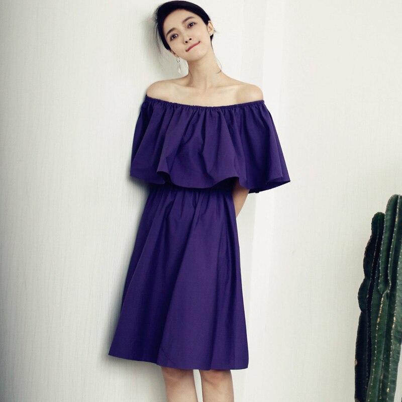 9c75da4221f4 summer dress Bohemian Off Shoulder Plus Size Vestidos Festa Womens Dresses  New Arrival 2016 Office Dress Midi Online shopping