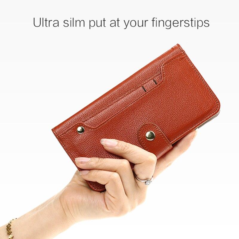 Petit étui de téléphone portable à fente pour carte en relief pour huawei p20 lite coque de téléphone en cuir véritable faite à la main wangcangli