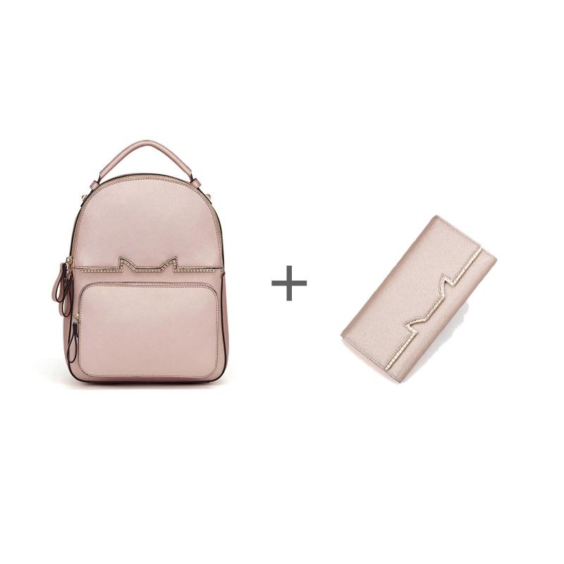 FOXER Brand Fashion Women Leather Bag & Long wallet #8 foxer women bag 2016 new cow leather handbag fashion long wallet banquet hand bag