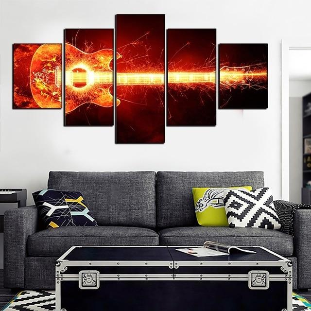Aliexpress.com : Buy Frames Painting Modular Cheap Picture Wall Art ...