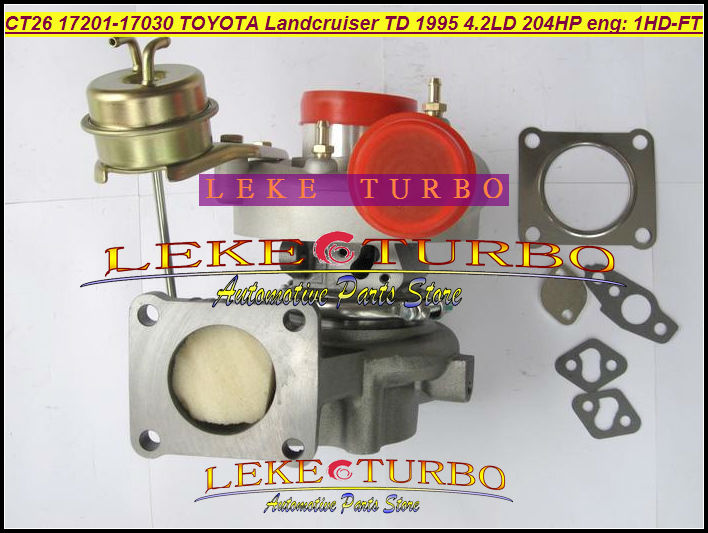CT26 17201 17030 17201 17030 1720117030 Turbo Turbine Turbocharger For TOYOTA Landcruiser Land cruiser 95 1HD