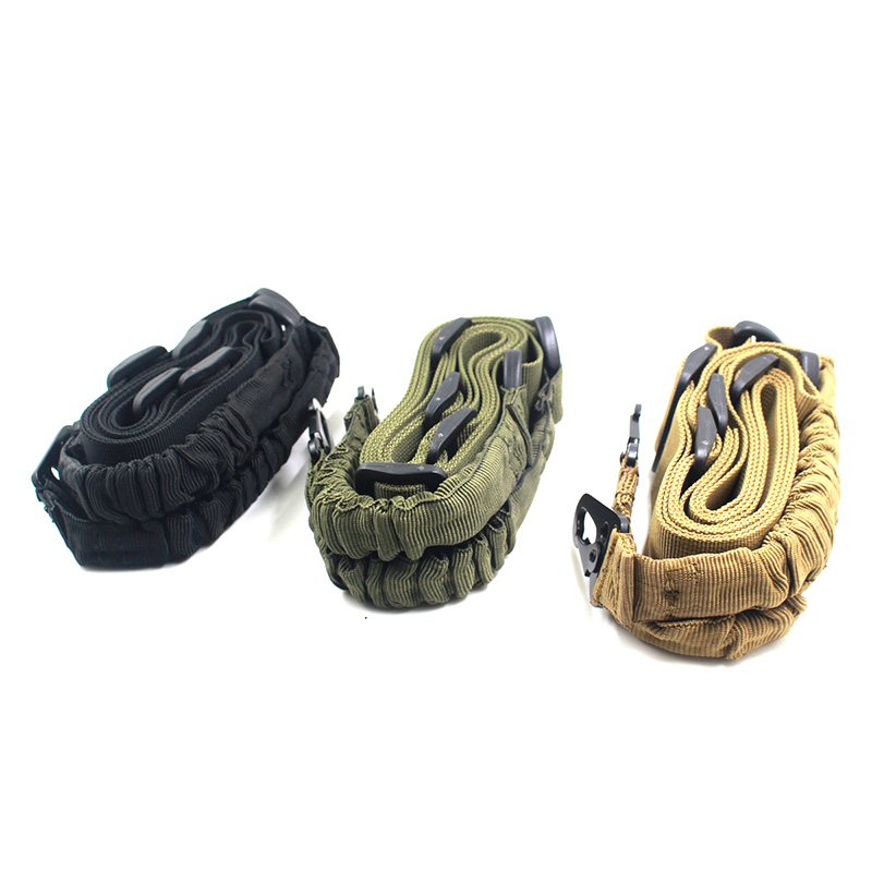 Outdoor Gun Rope Tactical Military 2 Points Sling Rifle Heavy Duty String Adjustable Airsoft Gun Strap Type A Quick Detach