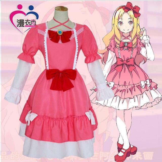 Anime Pink Dress