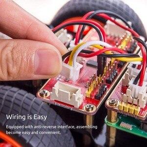 Image 4 - SunFounder Raspberry Pi 4B/3B/3B + Smart Roboter Auto Kit PiCar S Linie Folgenden Ultraschall Sensor licht Folgenden Modul Robot Kit