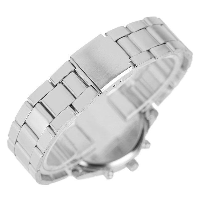 Dameshorloges Zilver / Rose Gouden Armband Creative Roman Numbers - Dameshorloges - Foto 5
