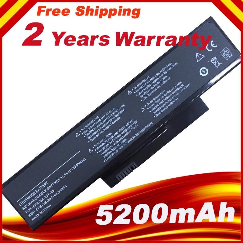 Battery For FUJITSU FOR FUJITSU-SIEMENS Amilo La1703 La-1703 V5515 V5535 SMP-EFS-SS-20C-04 SMP-EFS-SS-22E-06 SMP-EFS-SS-26C-06