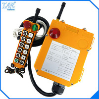 12V AC/DC UHF425 446 MHZ 12 Channels Industrial Wireless Radio Remote Control F24 12S for Hoist Crane Controller