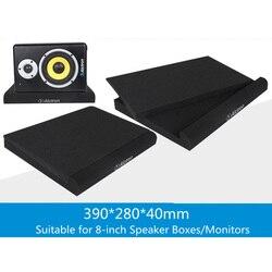 Musan 2pcs/set Alctron studio monitor Isolation Pads speaker acoustic foam shockproof sound foam for 8-inch Speaker Boxes