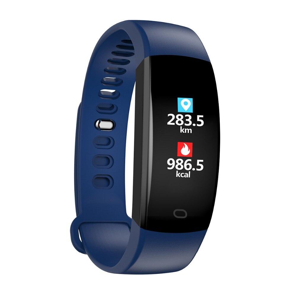 Smart Wristband 2018 Bracelet F64 Smartband gps waterproof sleep monitor Fitness Bracelet Smart Watch Call Alarm For iOS Android (43)