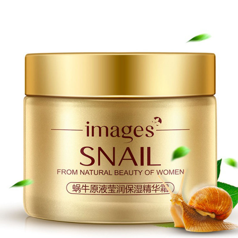 New Korea Snail Gold Face Day Cream Acne Treatment Moisturizing Anti Wrinkles Anti Aging Whitening Snail Facial Skin Care 50ml face care snail gel acne treatment removedor de cravos moisturizing repair whitening anti aging beauty face cream skin care