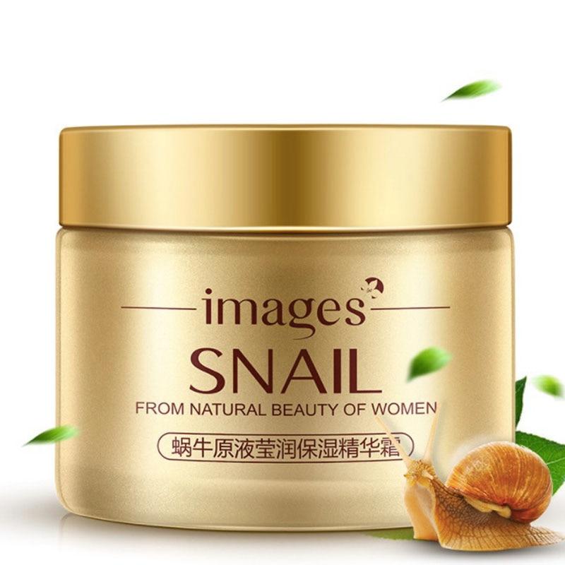 New Korea Snail Gold Face Day Cream Acne Treatment Moisturizing Anti Wrinkles Anti Aging Whitening Snail Facial Skin Care 50ml цена