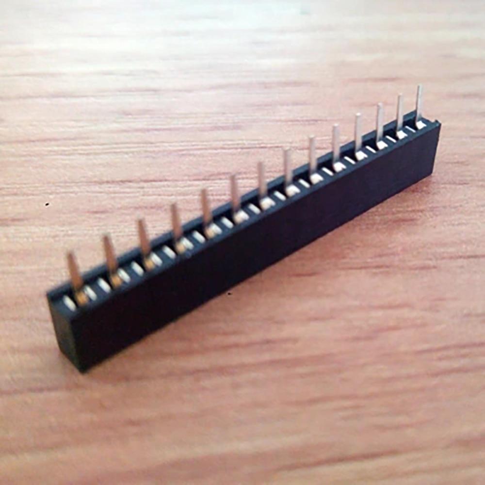 Single Row Seat 2mm Hole Spacing Pin Block 1*14P Connector Socket for RM04 Module 100PCS/lot Q027 видеоигра бука saints row iv re elected